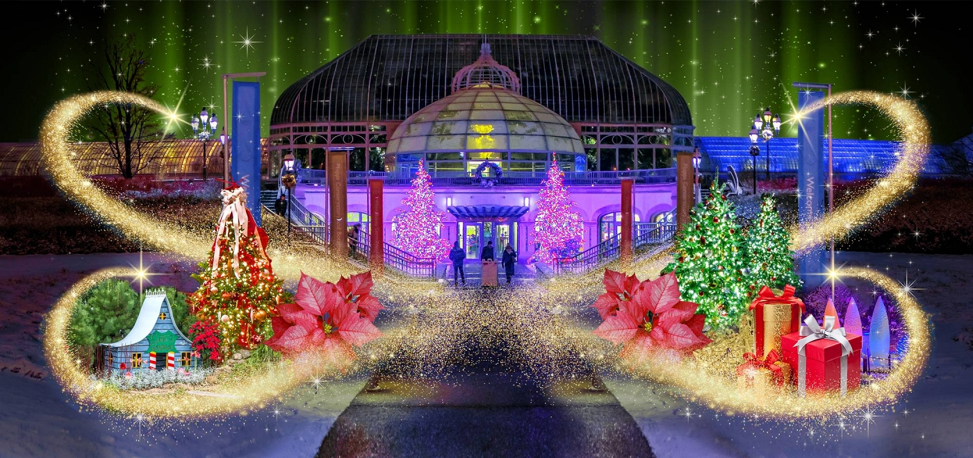 History Of The Phipps Conservatory Winter Flower Show And Light Garden Pittsburgh Beautiful